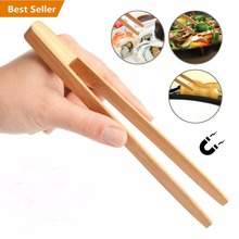 Grip Long Toast & Sushi 12 Pouce Cuisine Bambou Tong, Tong Alimentaire, BARBECUE Tong