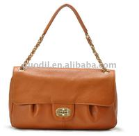 Stock ladies genuine leather handbags in the lowest price