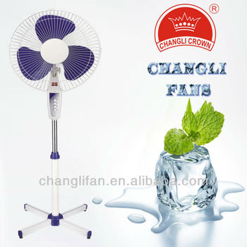 hot sale stand fan FS-1608 with remote control