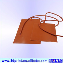 Custom Size Flexible Silicone Rubber Heater 12V Heater Pad