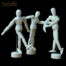Wooden Artist Human Man Figure, Drawing Model, Wood, Bendable, Articulated, Art Supply