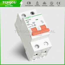 Good Quality 5 years gaurantee 2P 6A 10A 16A 20A 32A 40A 63A overload protection switch