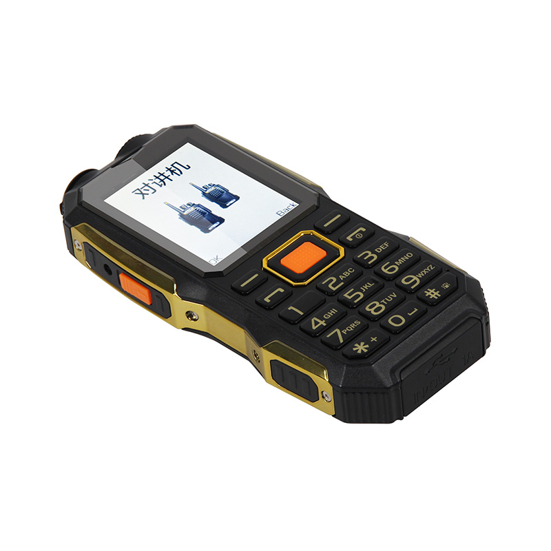 UNIWA <strong>W007</strong> 2.4 Inch TFT Screen Dual SIM Card 4000mah Big Battery UHF GSM Walkie Talkie With Sim Card
