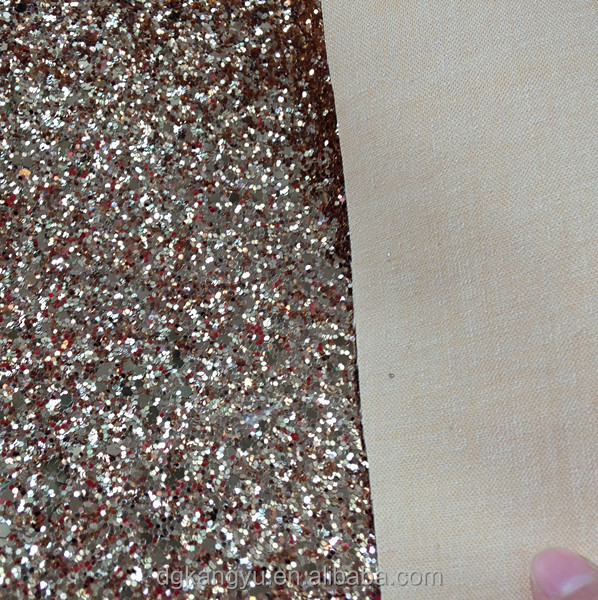 china pu synthetic leather manufacturers, pu leather in dongguan for glitter shoe upper