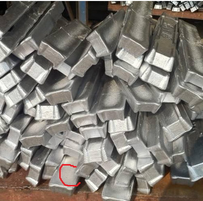 high quality factory price Aluminium Ingot 99.7%