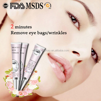 Low MOQ OEM ODM Under Eye Wrinkle Treatment Remedy Eye Bag Removal Cream