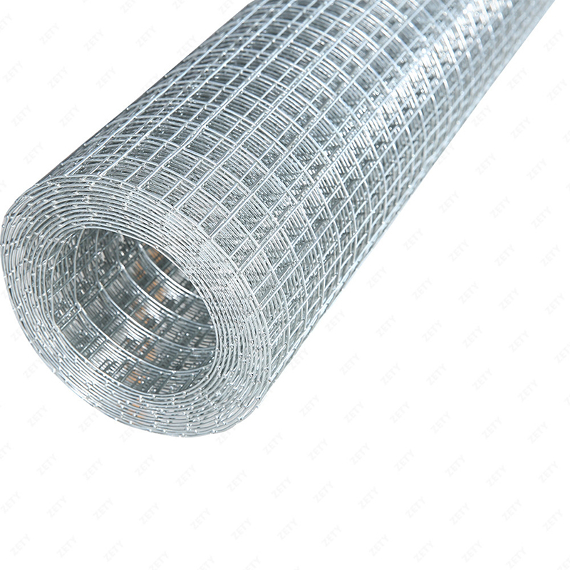 Factory price 3mm wire 50mm mesh stainless steel /galvanized welded wire mesh roll
