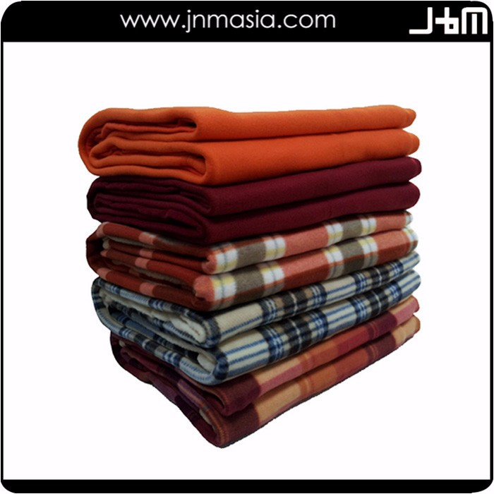 Wholesale customized good quality super soft polyester mink blanket