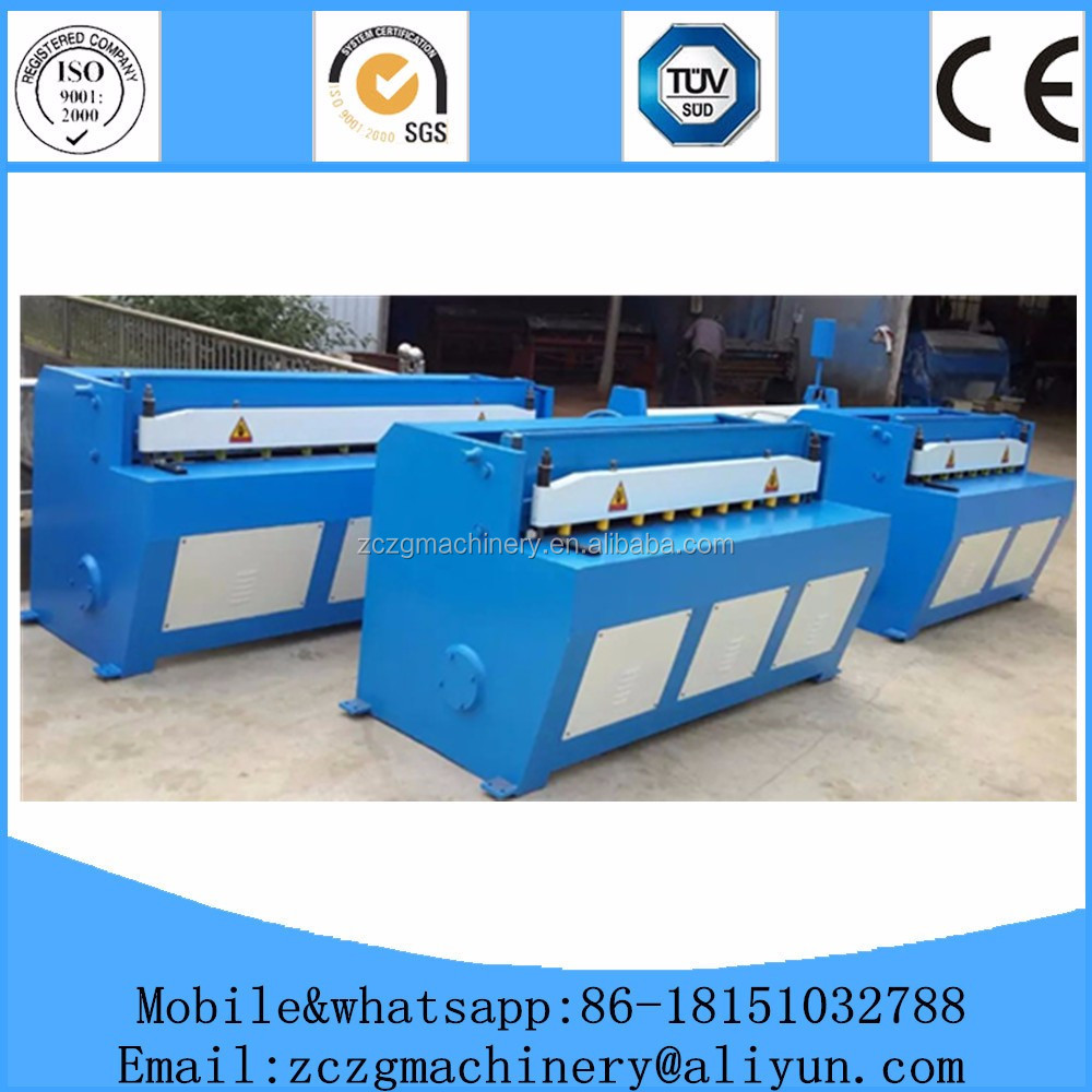 <strong>Q11</strong> series mechanical shearing machine for metal sheets in stock