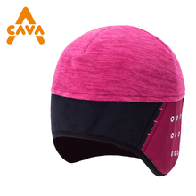 Custom Ultimate Performance warm fitted under Helmets Softshell Stretch Beanie cycling ski hat