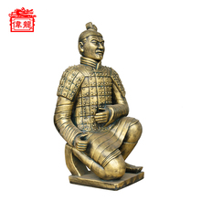 Wholesale Reproduction Chinese Warriors Statues And Sculptures YFT120-4