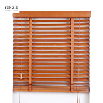 Classic European shades Basswood Wooden Venetian window Blinds