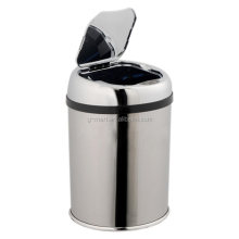 Mini desktop trash bin, sensor electronic waste bin stainless steel 3 liter GMS-03LQ
