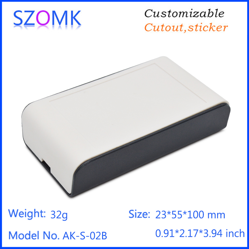 23*55*100mm Plastic Electronic Standard Electricity Saving Enclosure