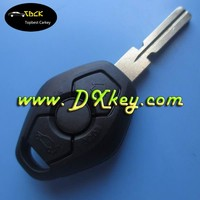 Topbest product for bmw key case key blank with half letter on the backside