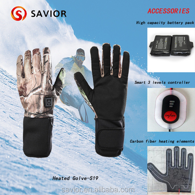 Electric hot hunting gloves are necessary for outdoor sports