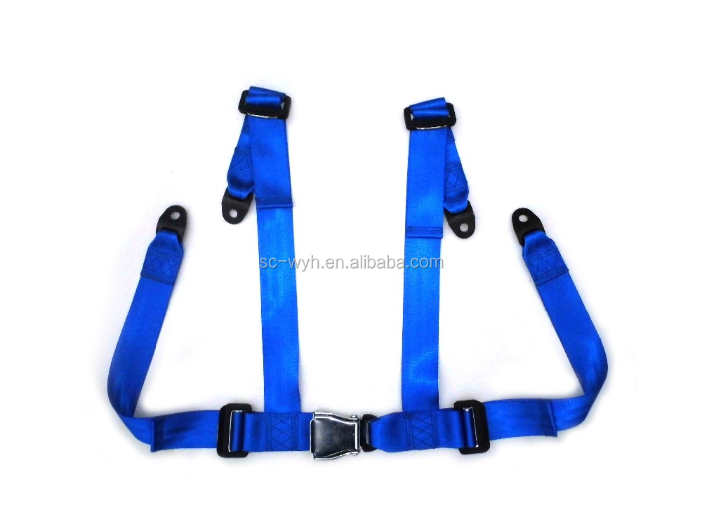 4 Points seat belt car for racing car