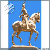 Outdoor modern decoration life size bronze horse statue