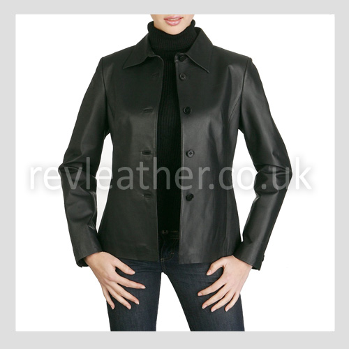 Women's Leather Classic Jacket