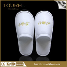 cheap wedding slippers knitted good quality unsex disposable slippers