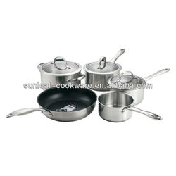 Cheap price cookware parts and stainless steel waterless cookware