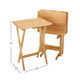 New Design Home Use Furniture Wooden Foldable Study Table