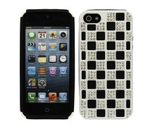 Crystal Diamond Hard Case for iPhone5,diamond brand case for iphone