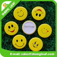 Custom Printed Round Pinback Button Badge with Safe Pin for Promotion cheap custom badge