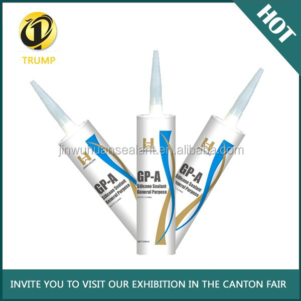 GP-A super acetic glass silicone sealant with factory price