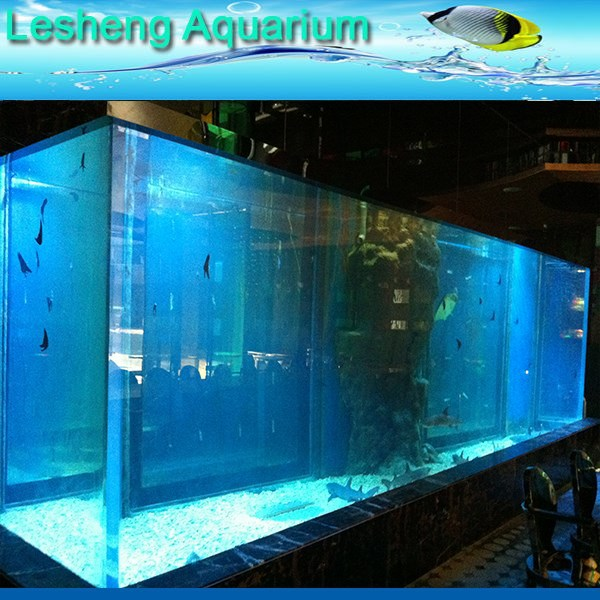 acrylic plastic new square fish tank