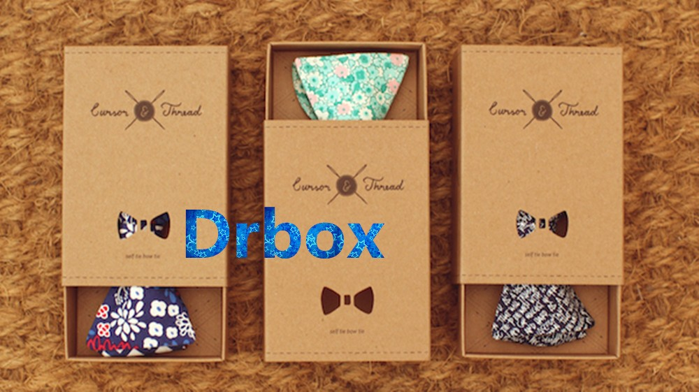 Different style White Bow Tie Packaging Gift Man Necktie Box for transparent gift