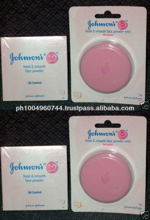 2 Johnson's Compact Face Powder 2 Refill color BEIGE