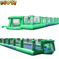 2017 new inflatable water soccer field soap football field