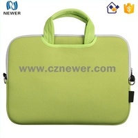 Custom wholesale price soft zipper neoprene laptop case