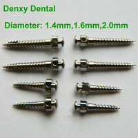 Orthodontic anchorage screw implant system micro implant orthodontic