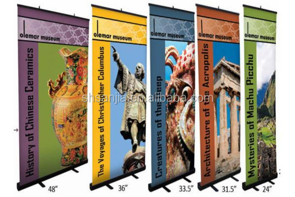 PVC Roll Up Banner, mini Roll Up Display,Fabric Banner Stand