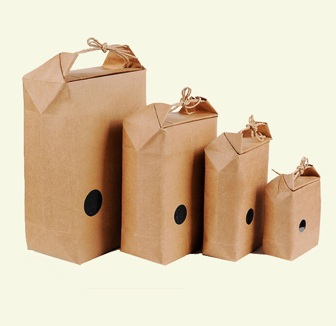 High quality durable <strong>rice</strong> craft paper bag