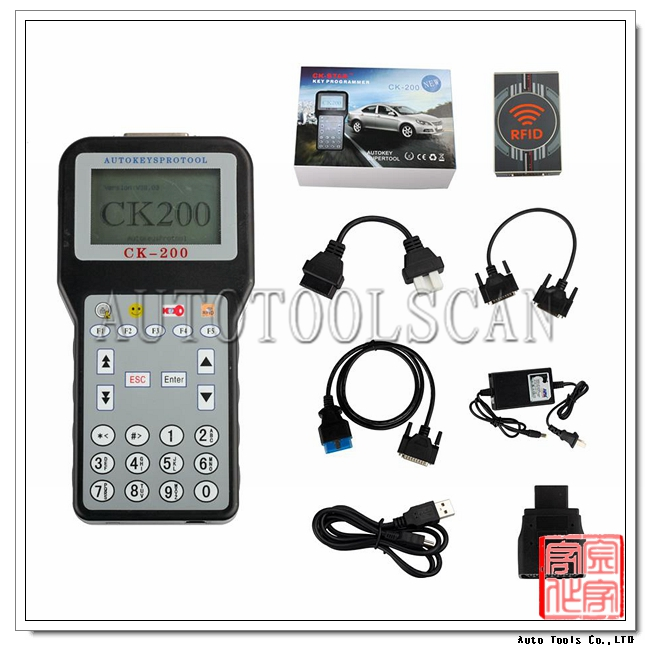 Top quality 2015 Newest Generation CK-200 CK200 Auto Key programmer AKP104