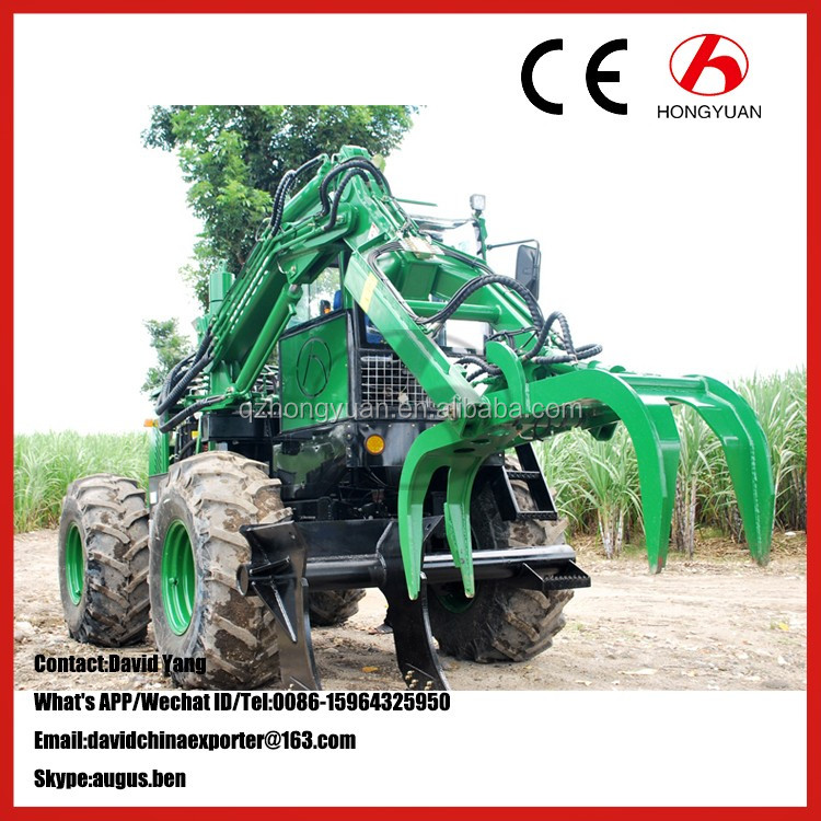 Qingzhou Hongyuan brand mini sugarcane loading machine