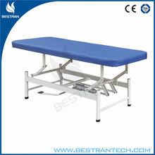 BT-EA007 Hot sale antique hydraulic foot pedal hydraulic foot pedal portable examination table clinic tables