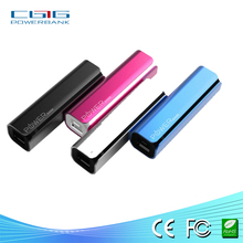 Hot selling and customizeAd logo power bank with alumnium alloy case