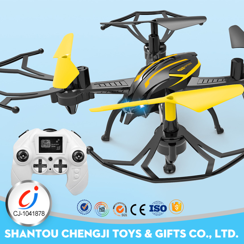 6CH 4 axis electronic aeroplane flying saucer toy with height function