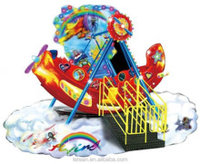 2015 good quality safety children amusement park ride pirate ship for sale