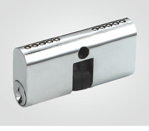 Anodized aluminum door Lock Cylinder with keys