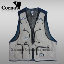 Cheap Professional Outdoor Travel Fishing Waistcoat Vest