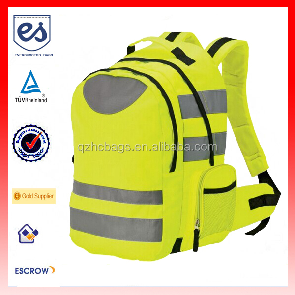 High Visibility Safety School Backpack Reflective Backpack