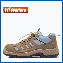 2016 New design suede leather Safety Shoes CE ISO 20345 S1P