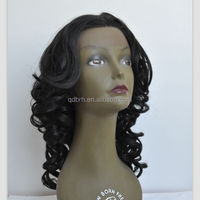 Fashion Beauty Wavy Synthetic Hair Lace Front Wigs