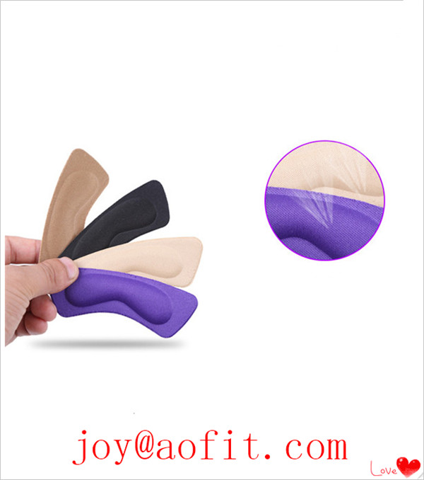 Foot Care Shoe Pads Sponge Gel Heel Feet Insoles Cushion