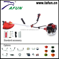 52cc best manual grass trimmer types with green and black colour